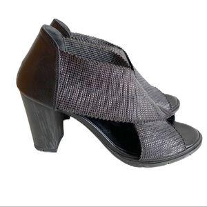 Hispanitas Joy Is A Choice Black Heel Sandals 9